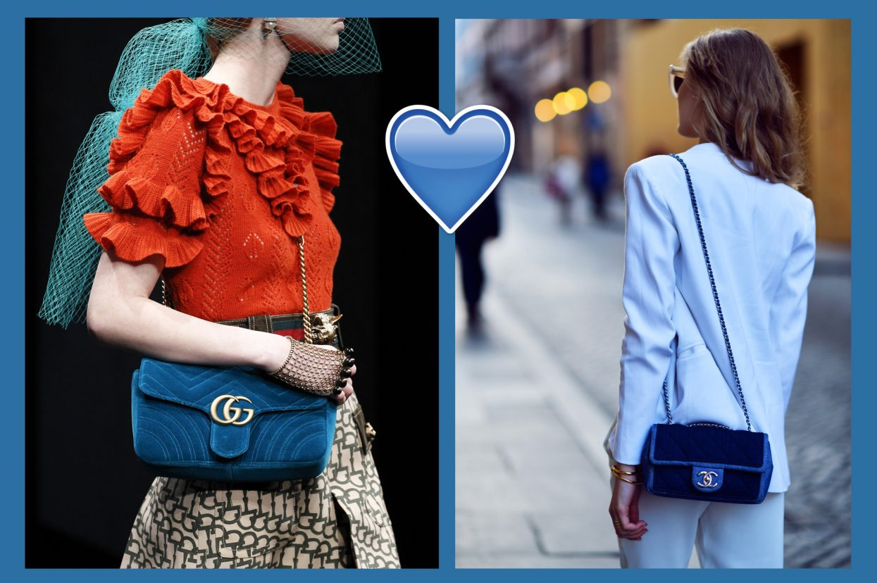 Our favorite blue bags for Fall Winter 2018-2019