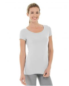 Tiffany Fitness Tee-XS-White